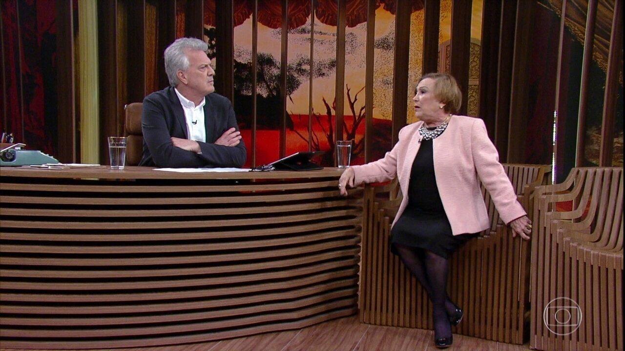 Nicette Bruno fala sobre seu casamento com Paulo Goulart