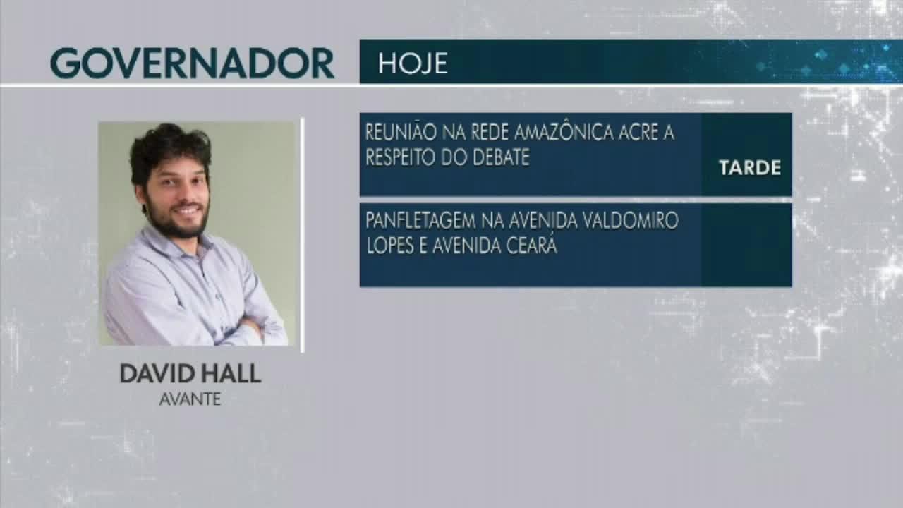 Confira a agenda dos candidatos ao Governo do Acre para esta terça-feira(25)