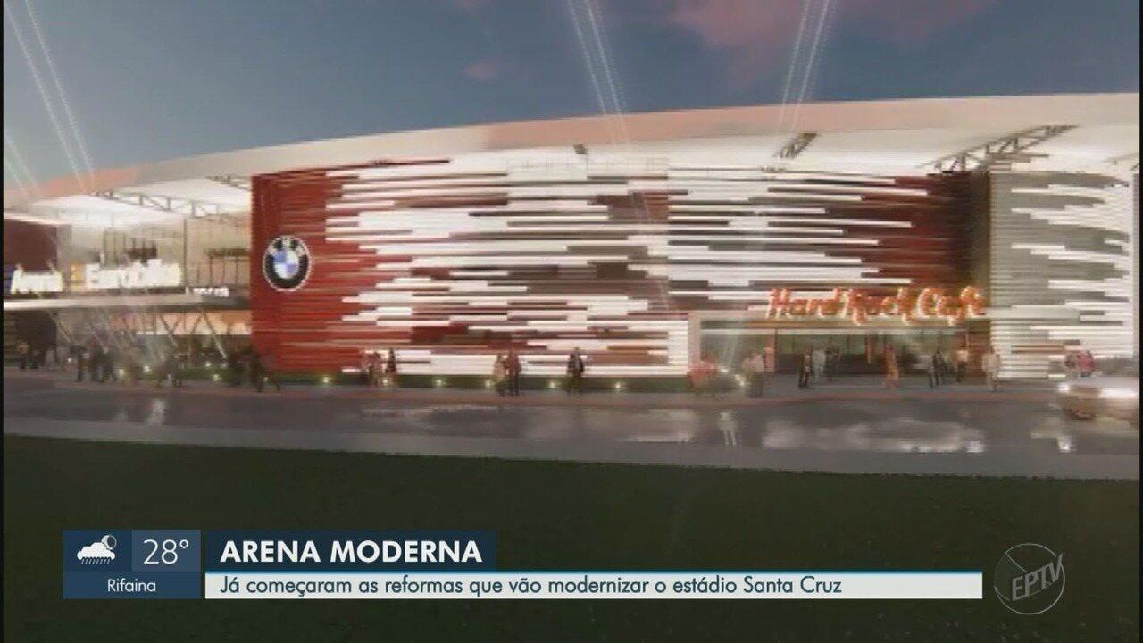 Botafogo transformará parte do Santa Cruz em arena multiuso