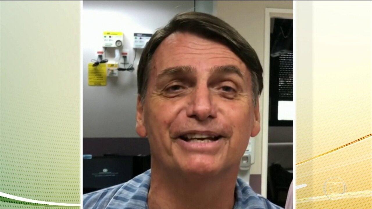Jair Bolsonaro (PSL) continua internado em hospital em São Paulo