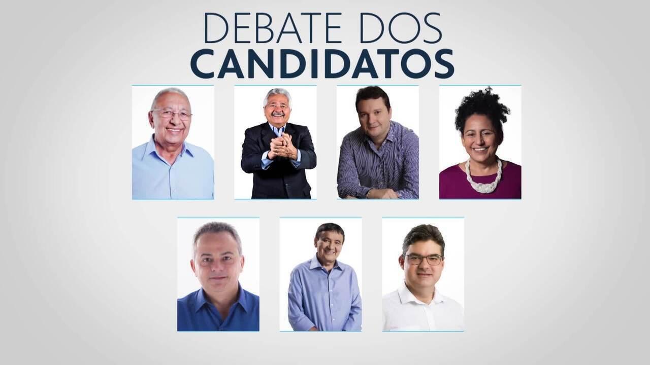 Rede Clube realiza debate com os sete candidatos ao Governo do Piauí