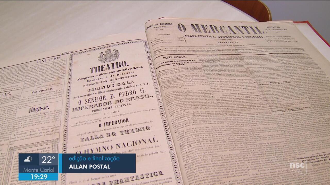 Pesquisador descobre em SC versão do hino nacional composta por Machado de Assis