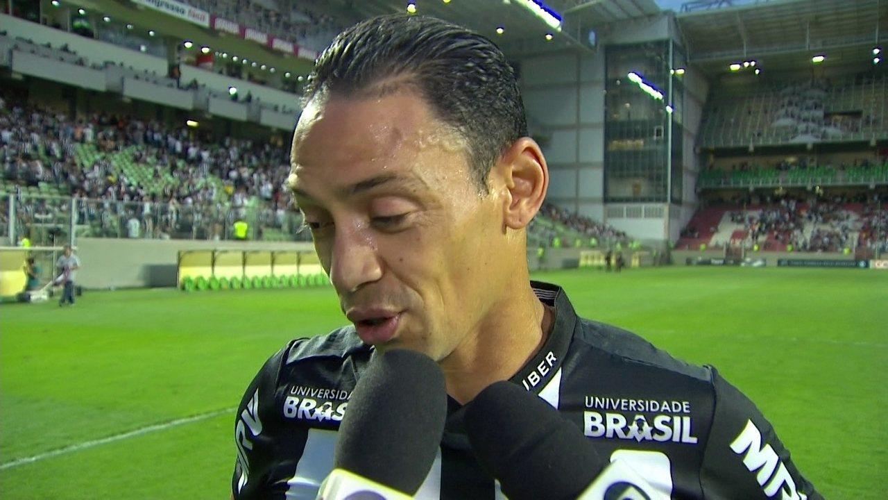 Ricardo Oliveira elogia reação do time após sair perdendo e explica  comemoração diferente após marcar gol 08270c2d822d5