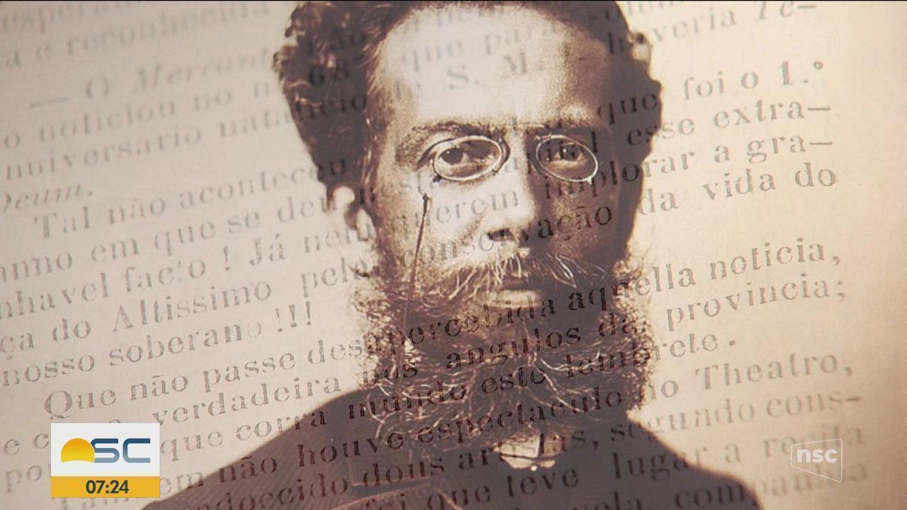 Versão do hino nacional composta por Machado de Assis é encontrada em biblioteca de SC