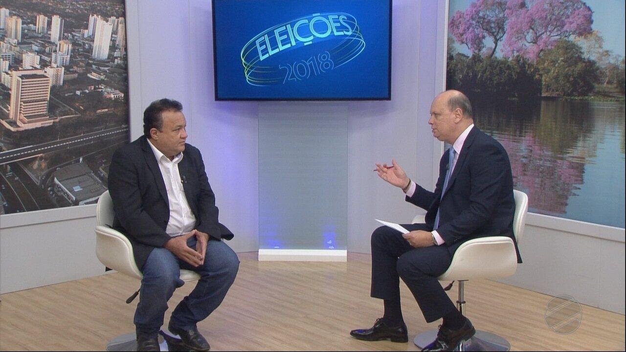 Entrevista com candidato ao Senado Gilberto Lopes Filho do PSOL