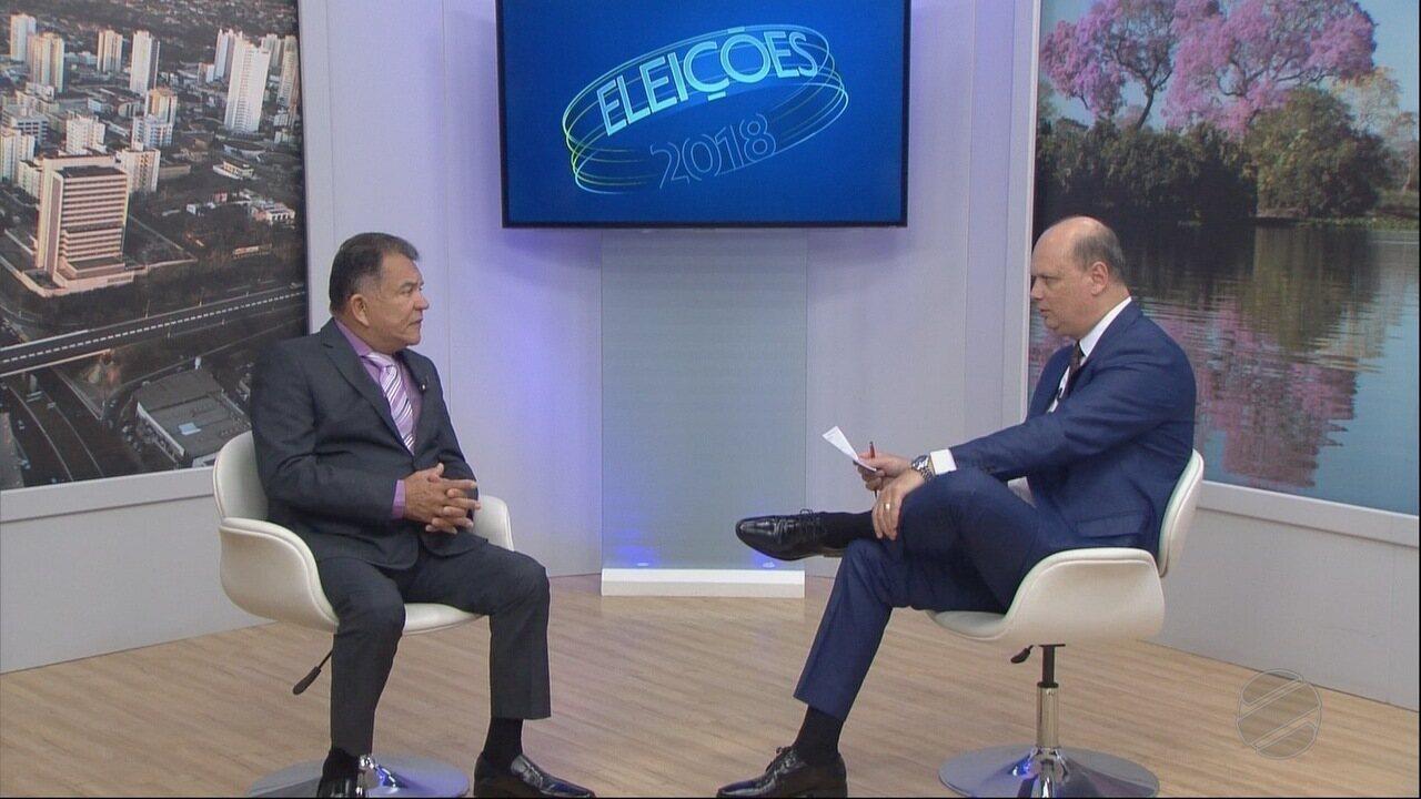 Entrevista com o candidato a Senado Sebastião Carlos da Rede