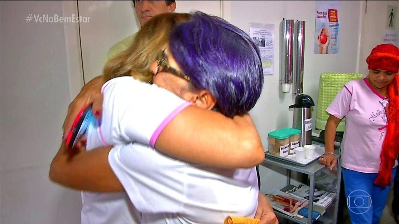 'Amigas do peito': pacientes com câncer de mama criam grupo de apoio