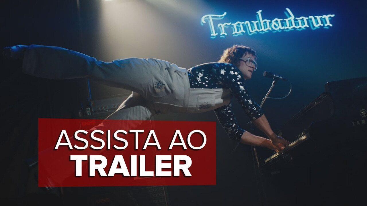 'Rocketman': assista ao trailer de filme sobre Elton John