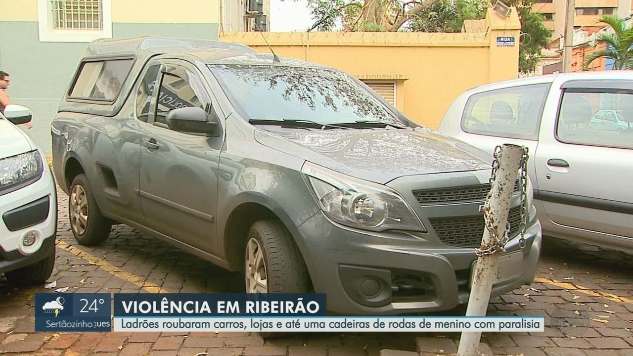 Assaltos assustam moradores e lojistas em Ribeirão Preto, SP