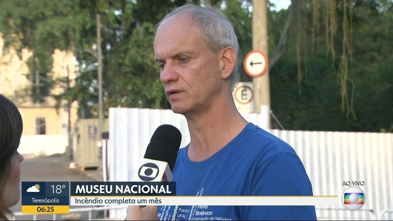 Ministério da Educação libera quase R$9 milhões para obras do Museu Nacional