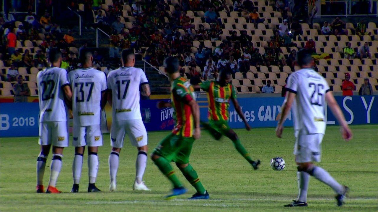 Melhores momentos: Sampaio Corrêa 1 x 0 Figueirense pela 30ª rodada da série B