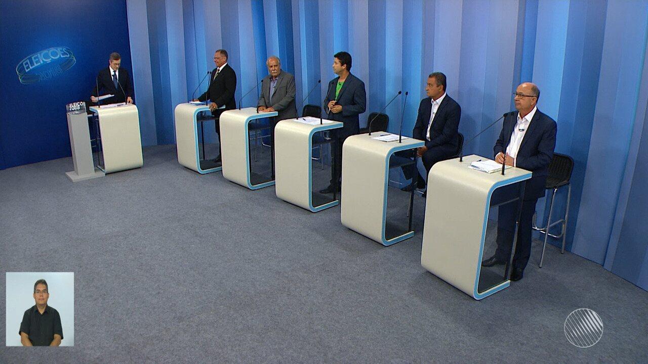 Debate entre os candidatos ao governo da Bahia - bloco 1