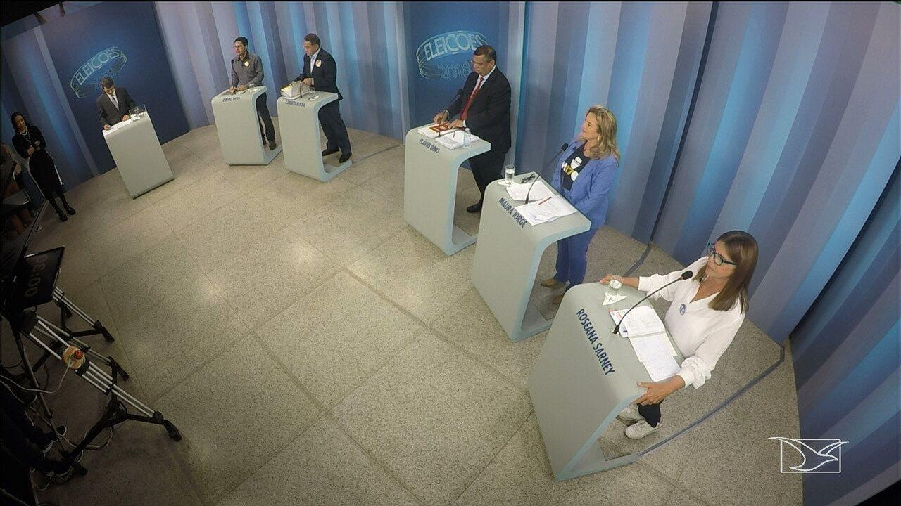 Segundo bloco - Debate para governador do Maranhão