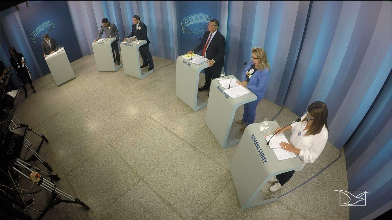 Quarto bloco - Debate para governador do Maranhão
