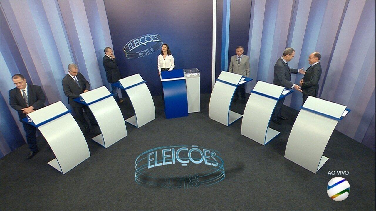 Debate para governador de Mato Grosso do Sul – 3º bloco