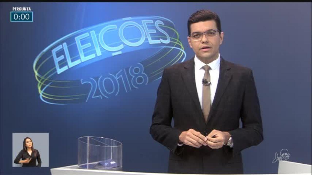 Debate dos candidatos ao Governo do Ceará - 1º bloco