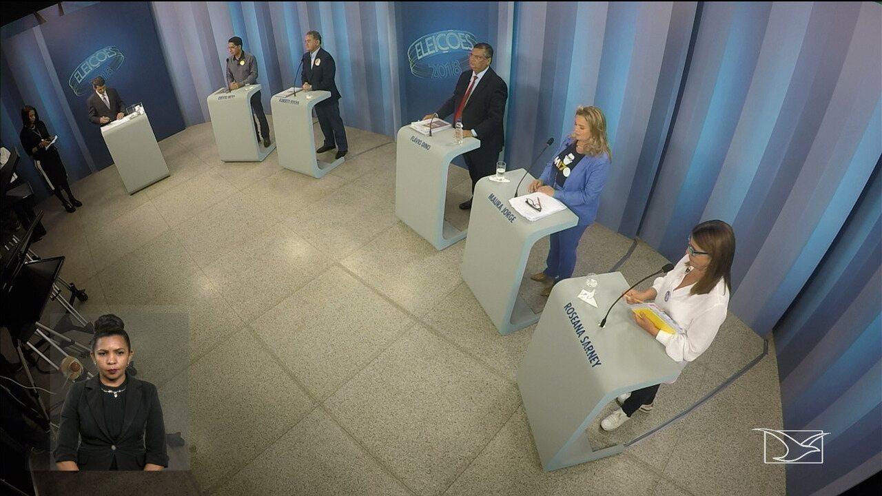 Quinto bloco - Debate para governador do Maranhão