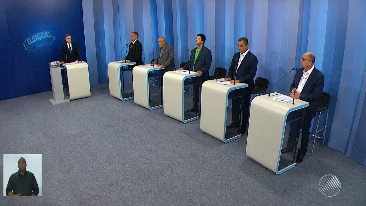 Eleições 2018: veja o debate entre os candidatos ao governo da Bahia