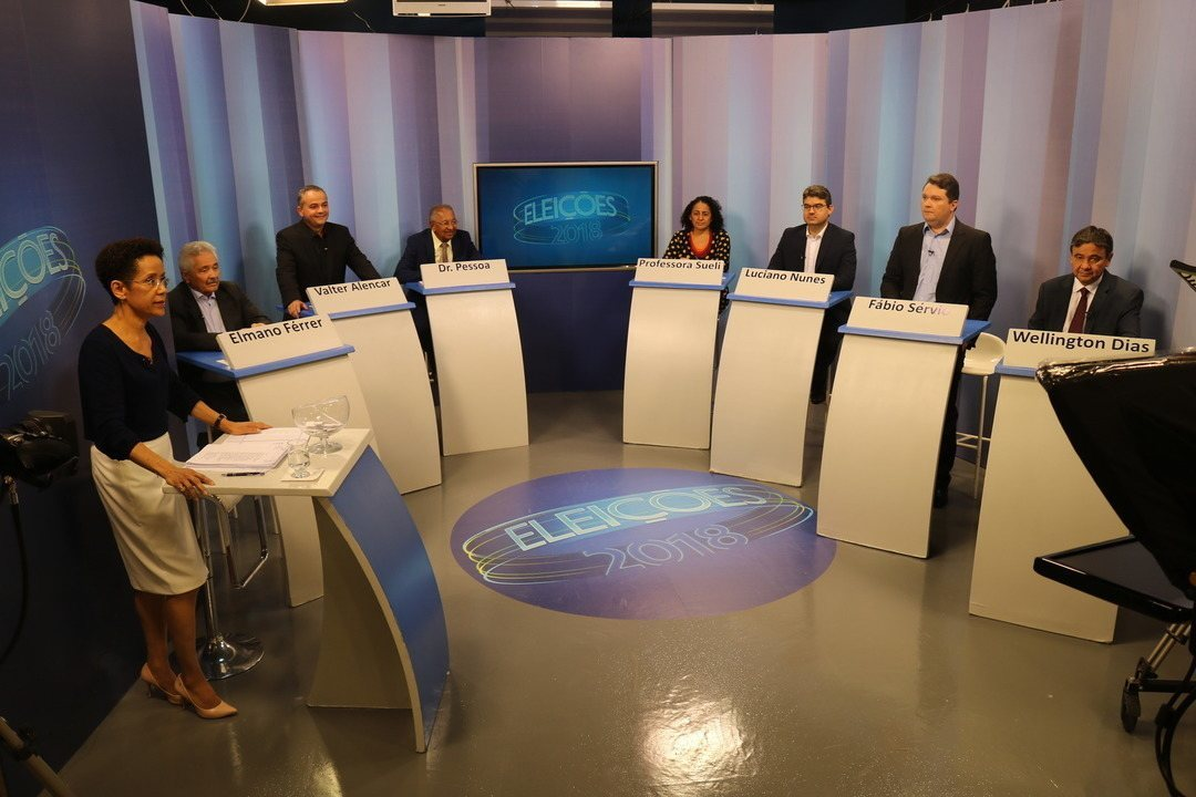 Eleições 2018 – Debate com os candidatos ao governo do Piauí - Bloco 1