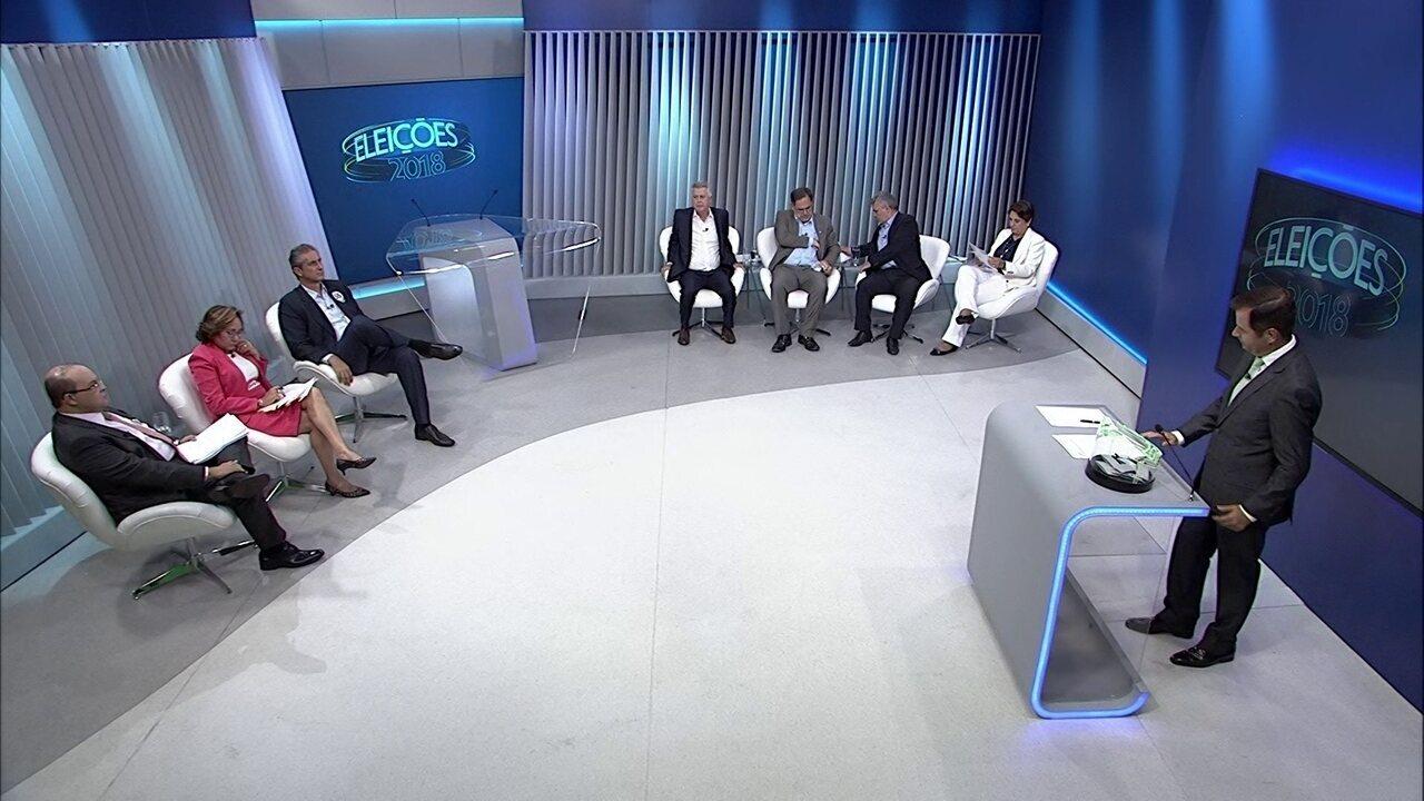 Debate dos candidatos ao governo do DF - Bloco 2