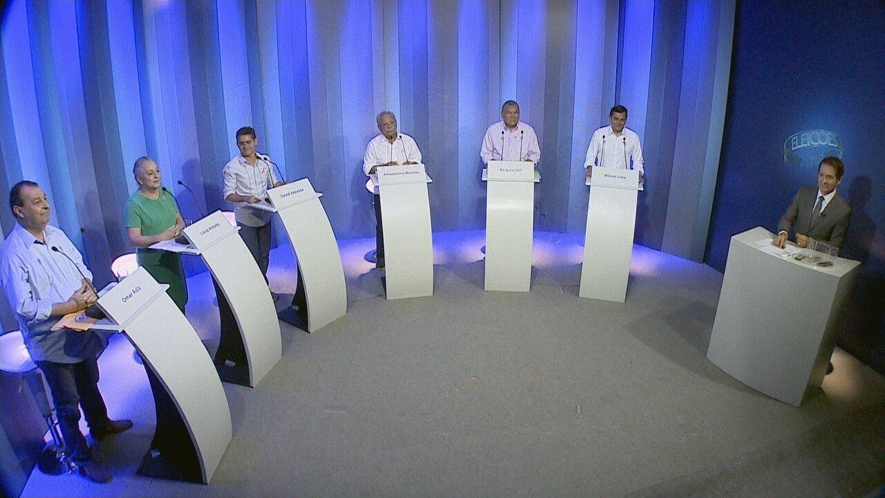 Debate para governador do Amazonas
