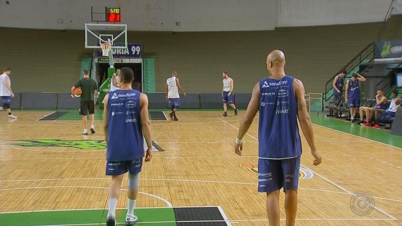 Bauru Basket se prepara para encarar Franca na semifinal do Campeonato Paulista