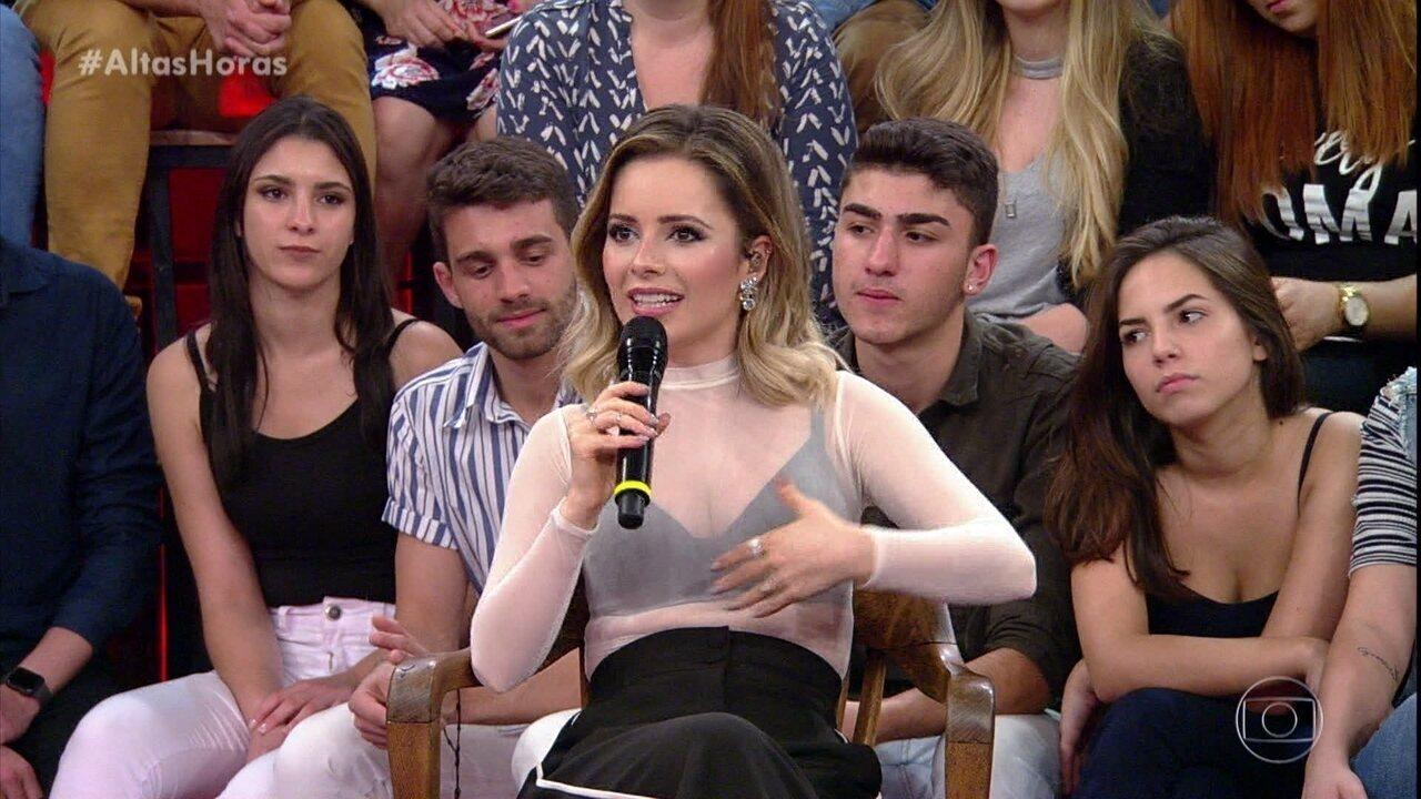 Sandy diz que ainda se surpreende com carinho dos fãs