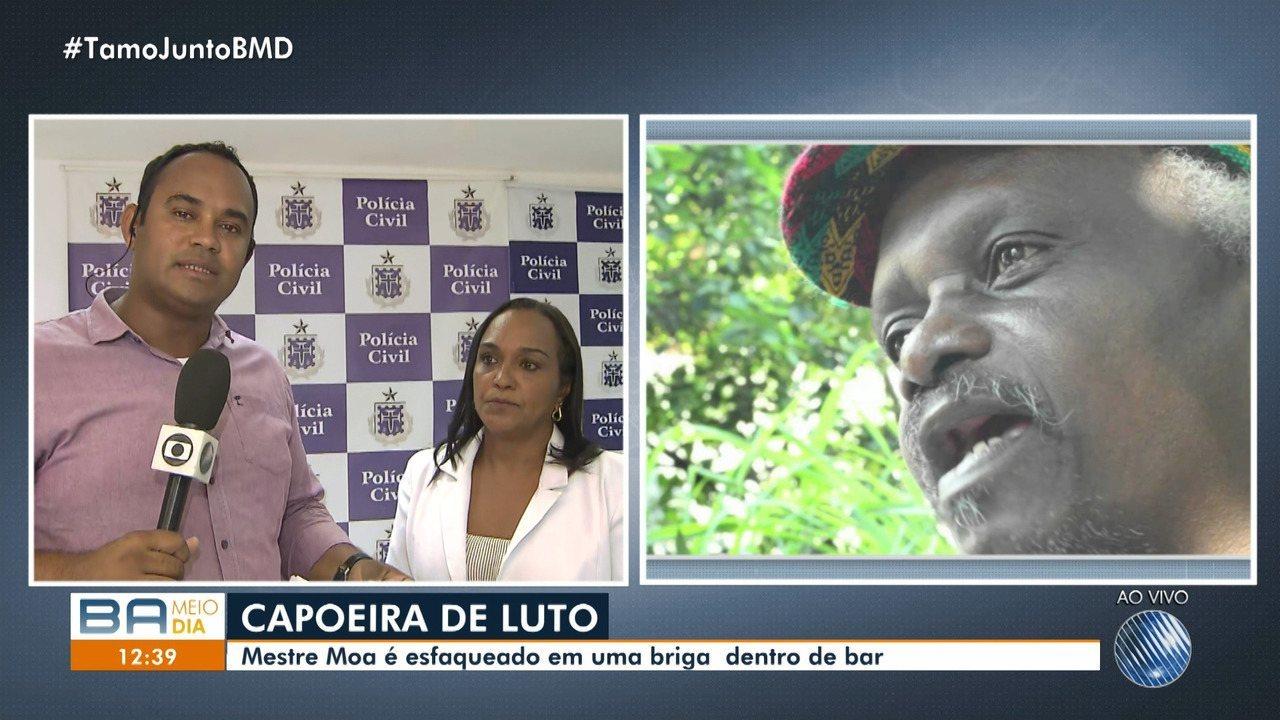 Mestre de capoeira é morto após discussão política em Salvador