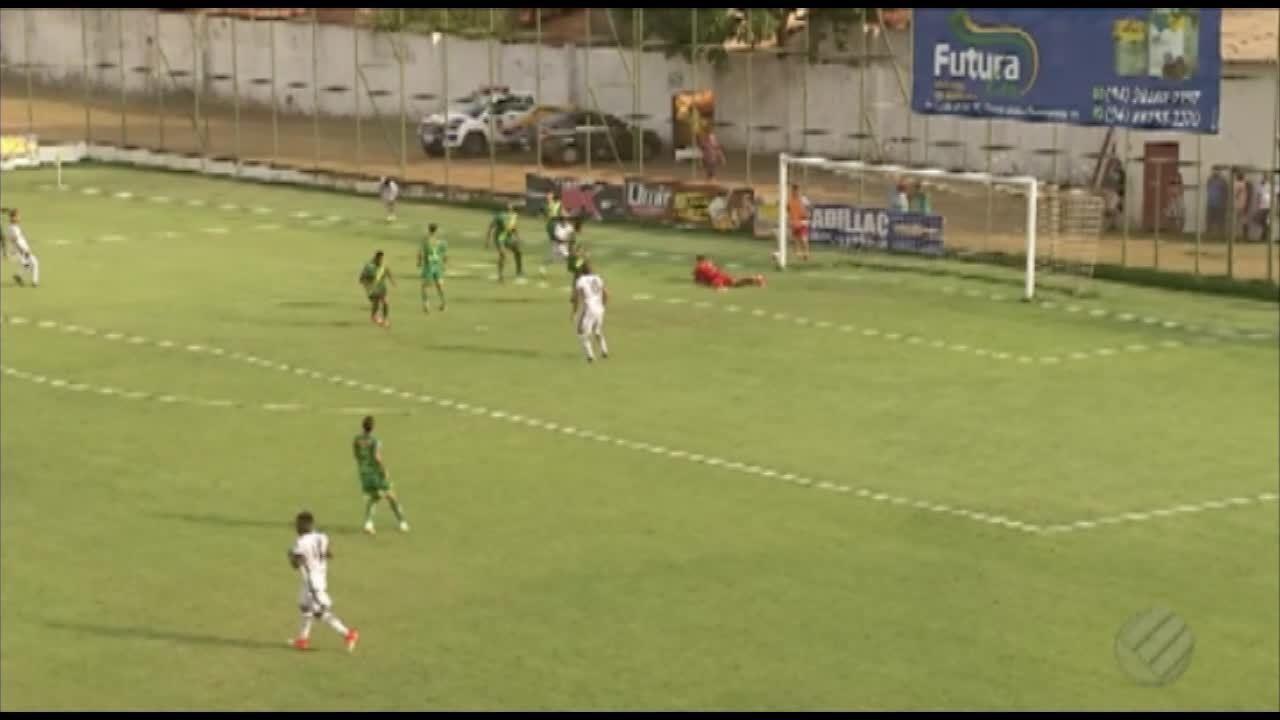 Tuna vence Atlético Paraense por 1 a 0, em Parauapebas