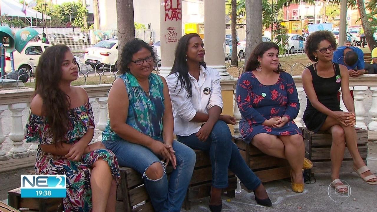 Mulheres têm protagonismo nas Eleições 2018 em Pernambuco