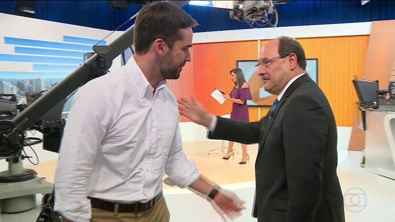 Eduardo Leite (PSDB) e José Ivo Sartori (MDB) disputam 2º turno no RS
