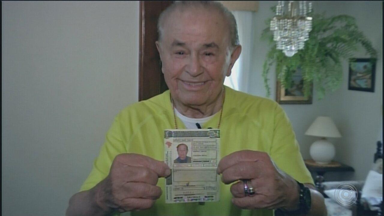 Morador de Avaré com 100 anos dá lição de vida