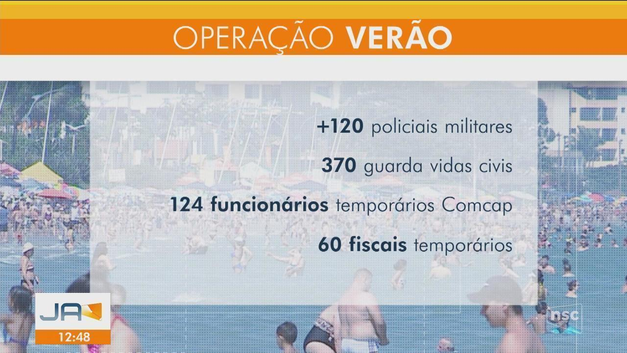 Prefeitura de Florianópolis detalha Operação Verão 2019; navios estão descartados