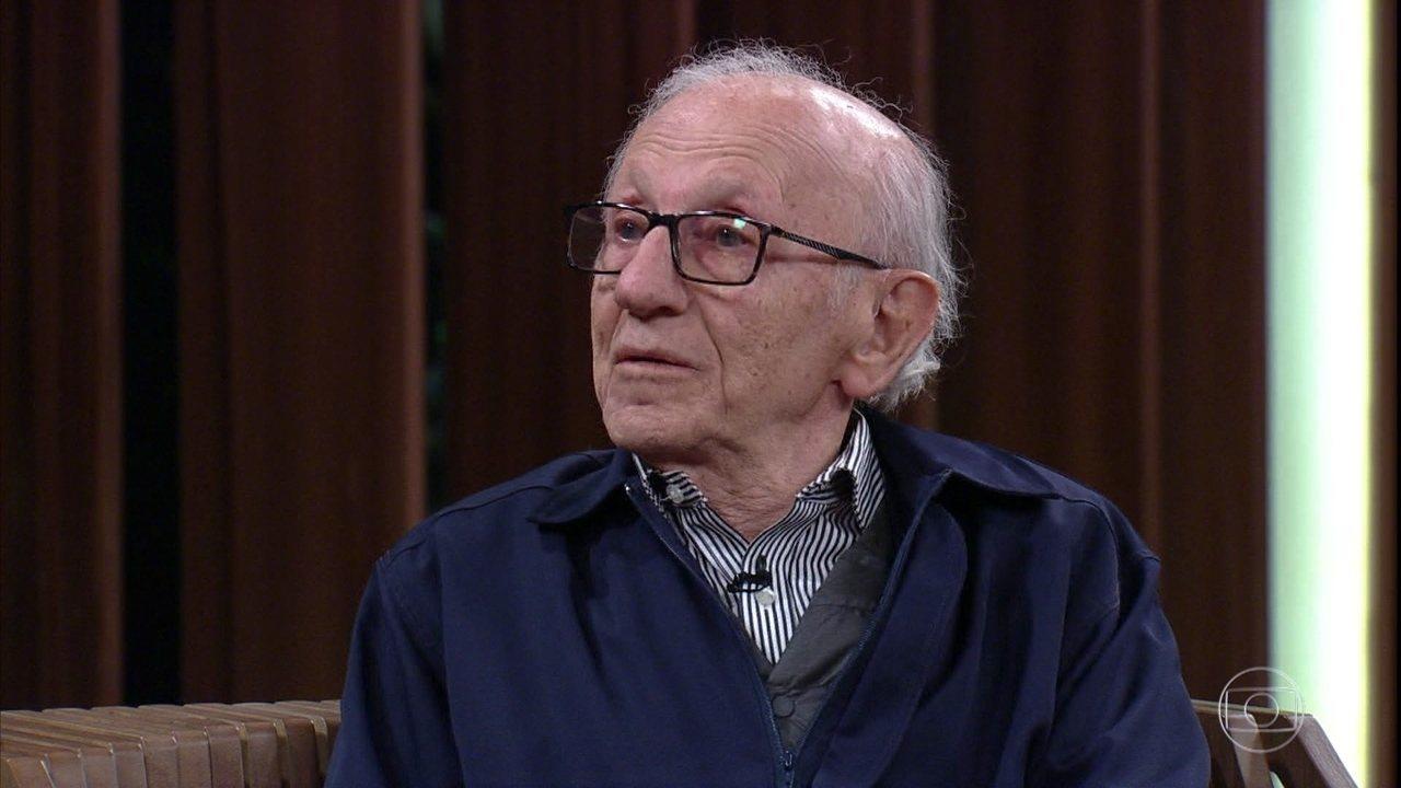 Andor Stern, sobrevivente do Holocausto, conta sua história
