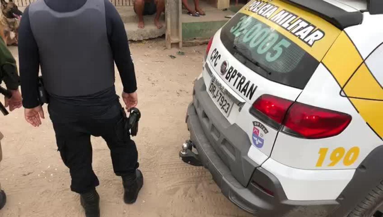 Polícia faz operação contra tráfico de drogas na região do Mutirão, no Vergel