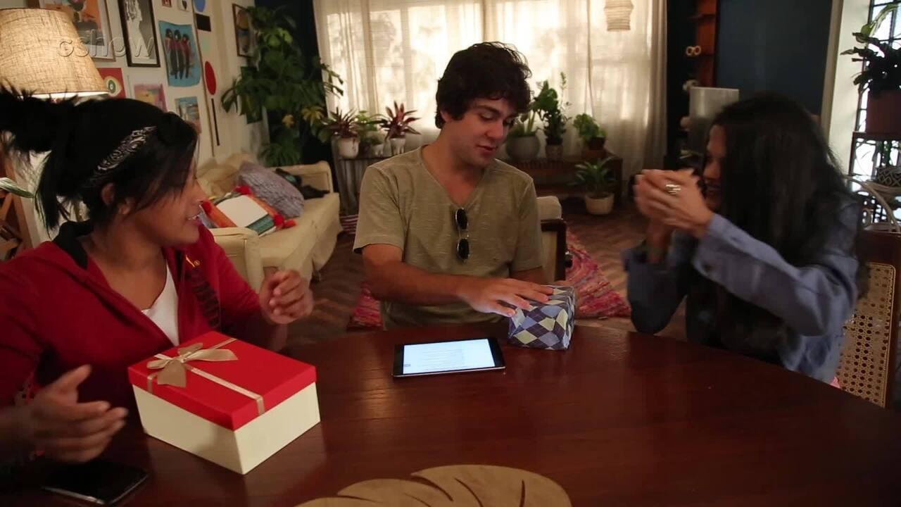 Daniel Rangel bate papo com fãs de Malhação