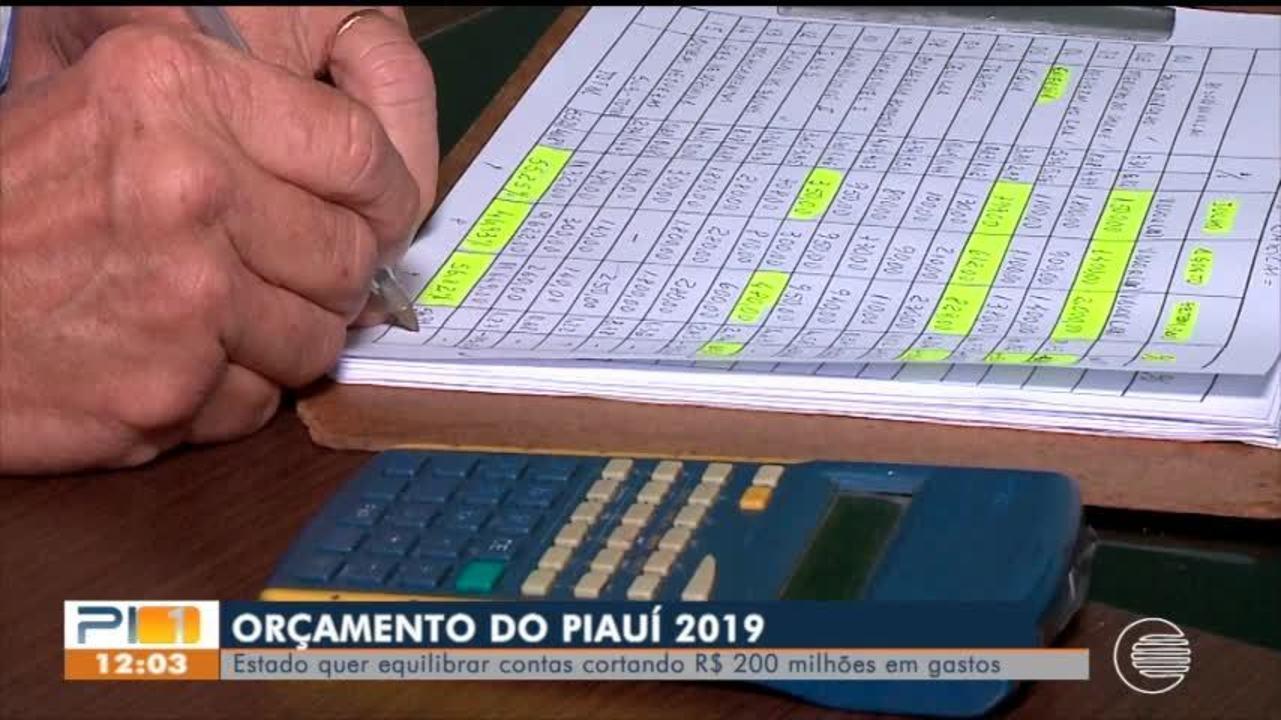 Estado quer equilibrar contas cortando R$ 200 milhões em gastos