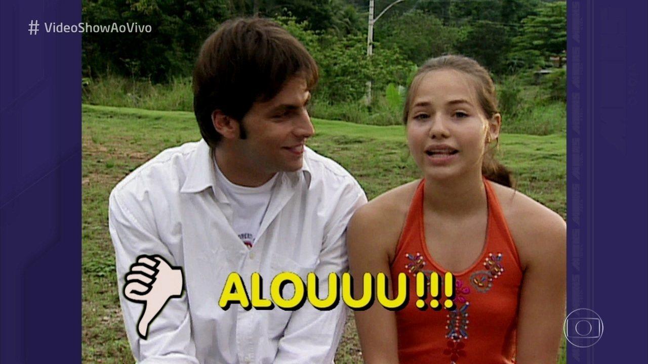 Vídeo Show   Letícia Colin revê participação no 'vídeo Show' aos 12 anos