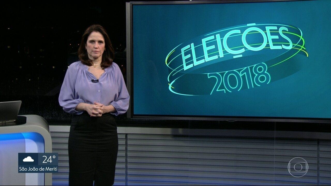Confira o dia dos candidatos ao governo do estado do RJ nesta quarta-feira (10)