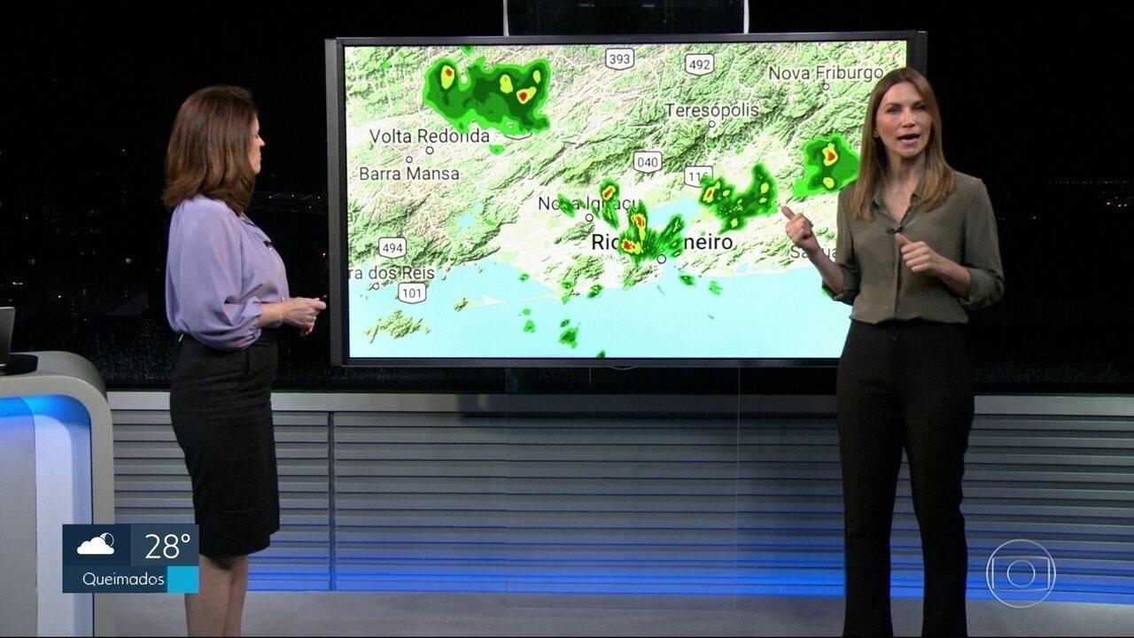 Quarta-feira (10) termina com chuva forte na Zona Norte