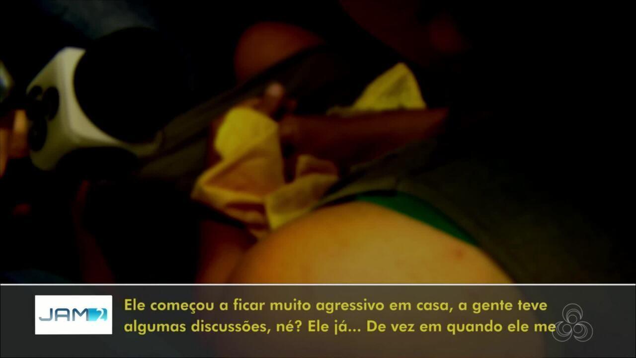Homem é preso suspeito de agredir e manter esposa e filha em cárcere privado, em Manaus