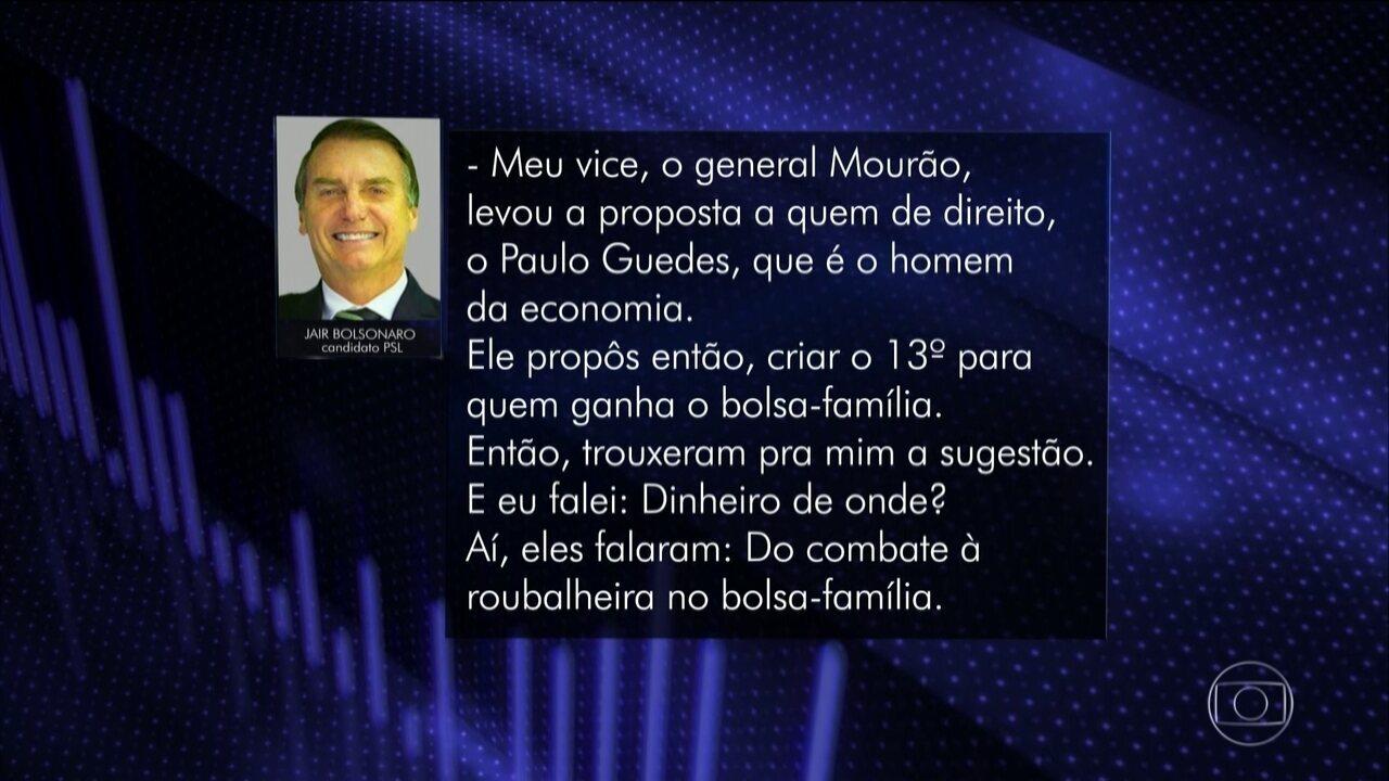 Veja o dia de campanha de Jair Bolsonaro (PSL) nesta quarta-feira (10)