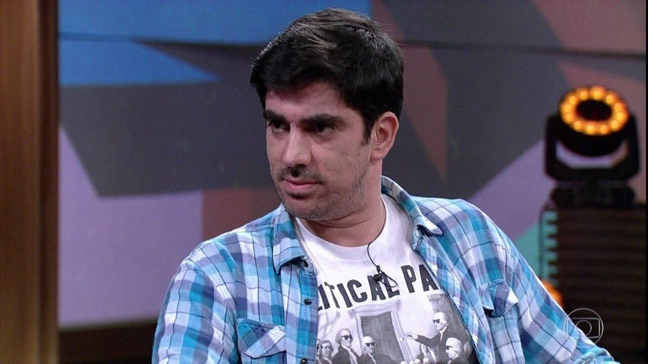Marcelo Adnet fala sobre as reações das pessoas às suas imitações