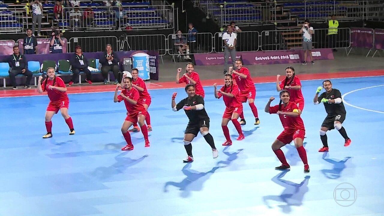 Conheça a seleção de futsal de Tonga nos Jogos Olímpicos da Juventude 88e7c1cfb9149