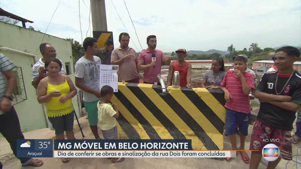 MG Móvel: Moradores conseguem obras e sinalização no bairro Vista do Sol, em BH