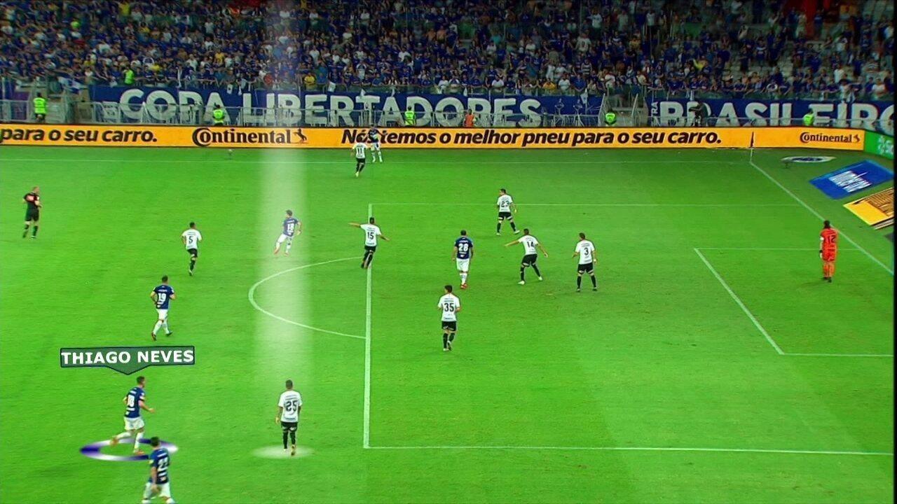 Comentaristas analisam desempenho de Thiago Neves e seus gols decisivos
