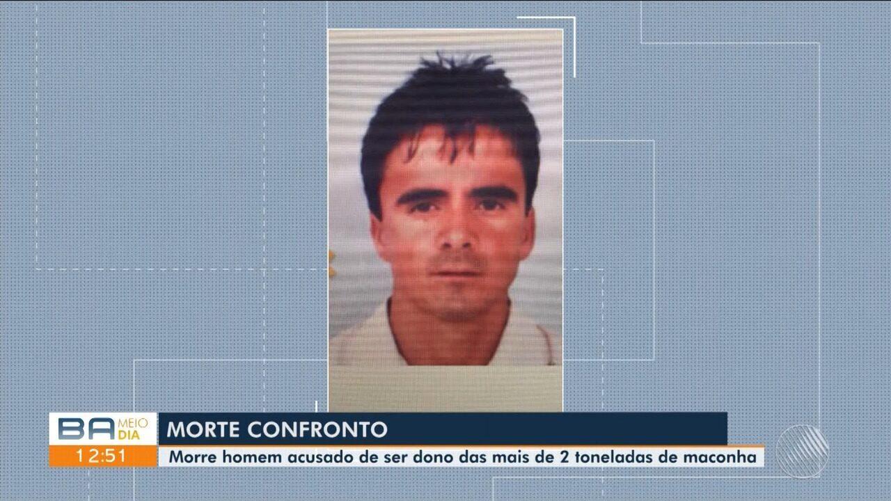 Morre homem acusado de ser dono de mais de duas toneladas de maconha em Cândido Sales