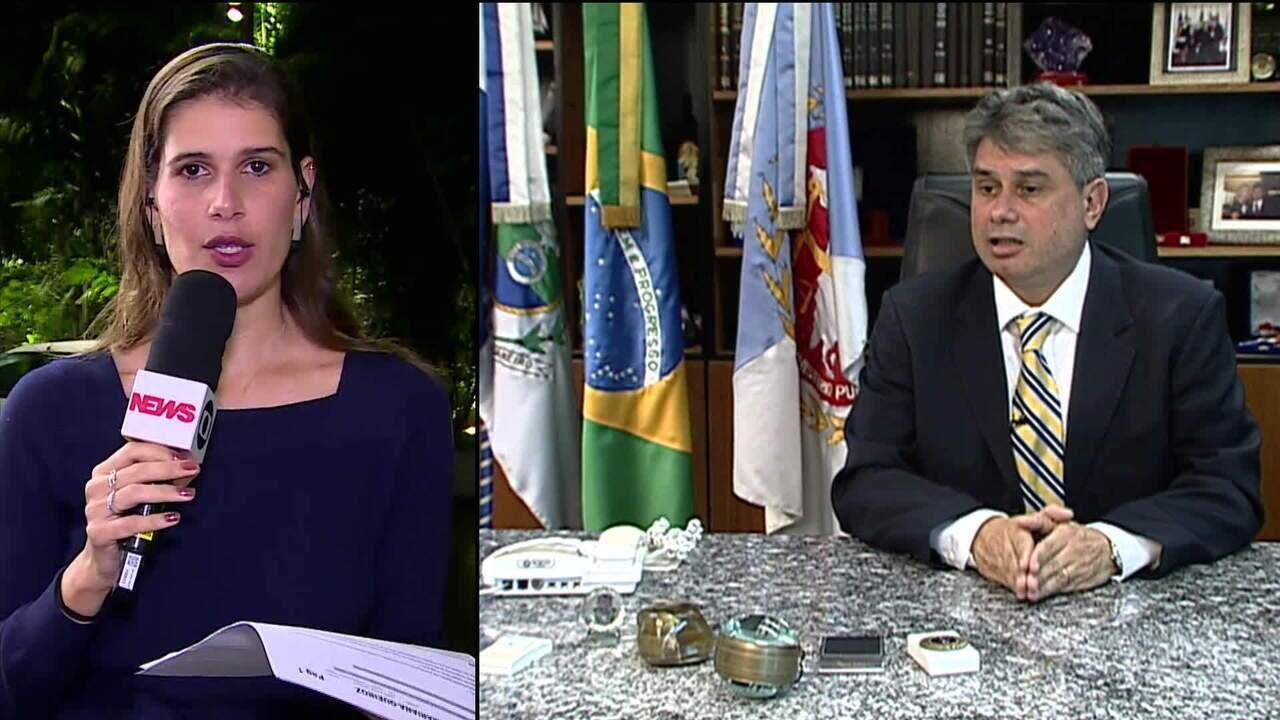 Ex-procurador Geral de Justiça do Rio é afastado do Ministério Público