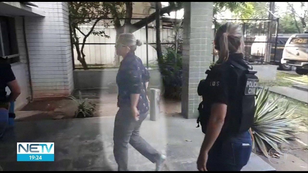 Duas pessoas são presas por envolvimento em fraudes de licitação de merenda em Ipojuca