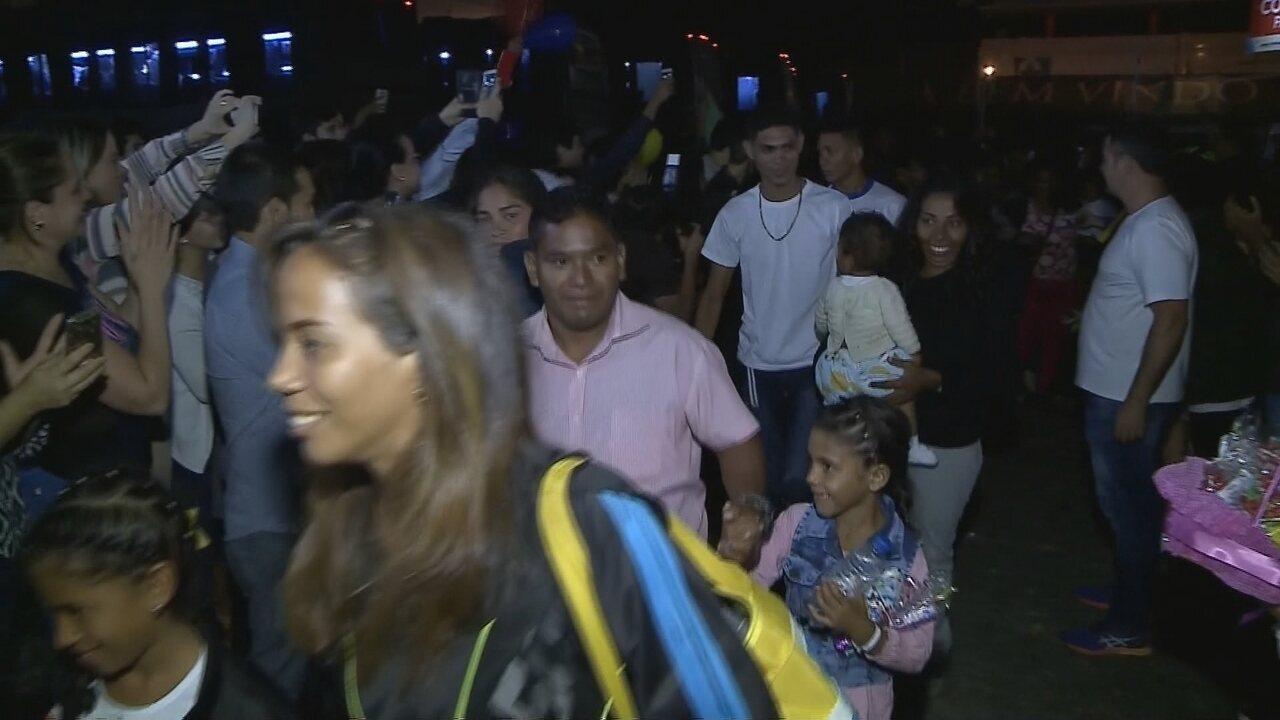 Mais de 200 venezuelanos chegam a Balneário Camboriú